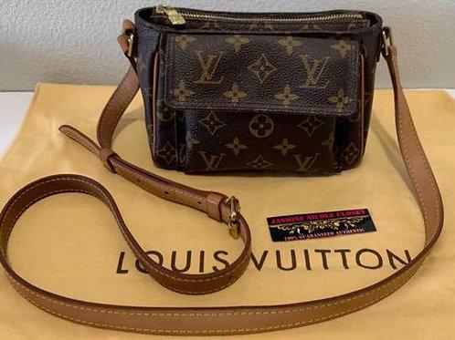 Pre Owned Rare Authentic LV Viva Cite PM Crossbody Bag