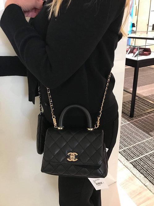 Brand New Chanel Coco Handle Mini Mini