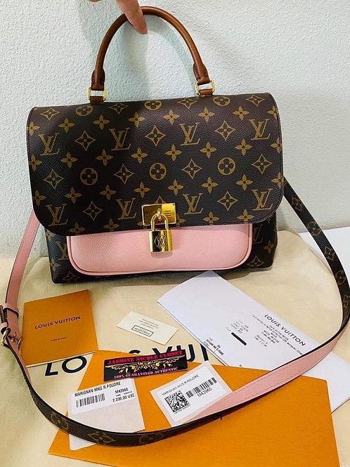 LV Marignan Rose Poudre Crossbody Bag