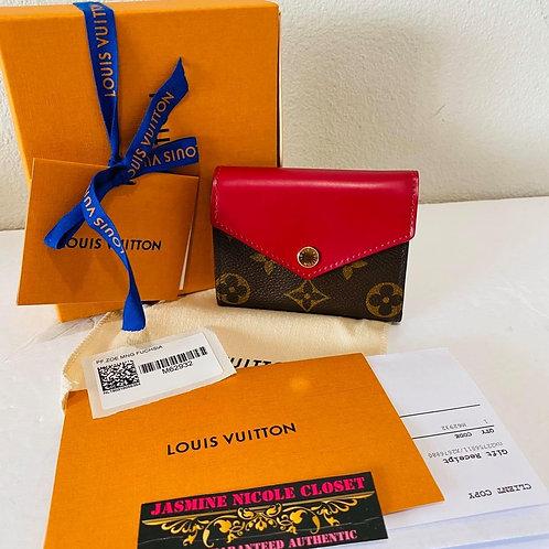 LV Zoe Fuschia Wallet
