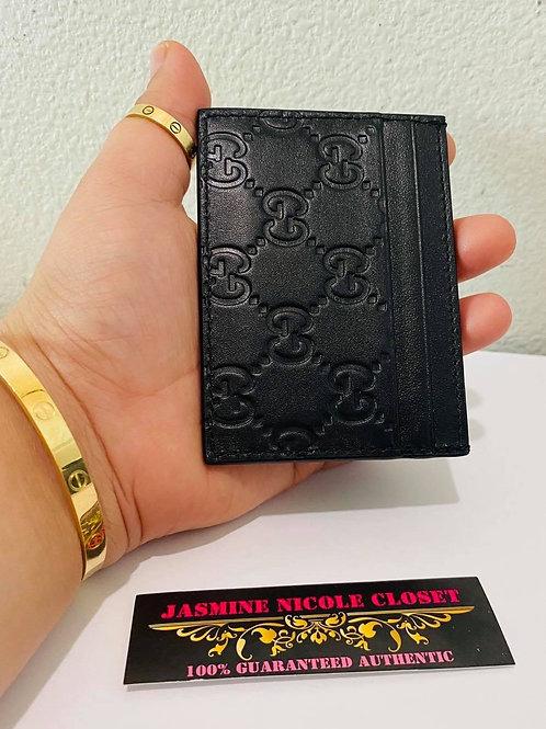 Brand New Gucci Card Holder Black