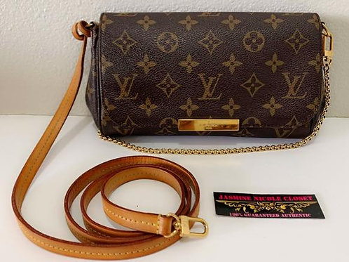 Pre Owned Rare Authentic LV Favorite PM Bag