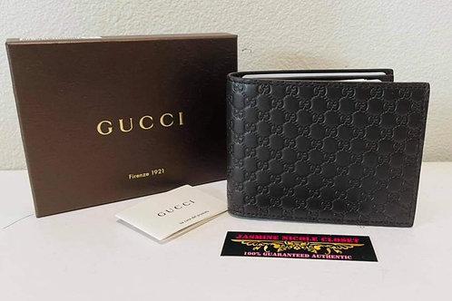 Brand New Gucci Mens Wallet Dark Brown