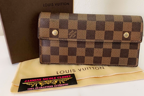 LV Long Wallet Ebene