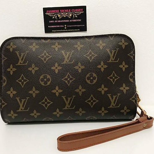 Pre Owned Luis Vuitton Orsay Clutch Retail Price $1480 plus tax