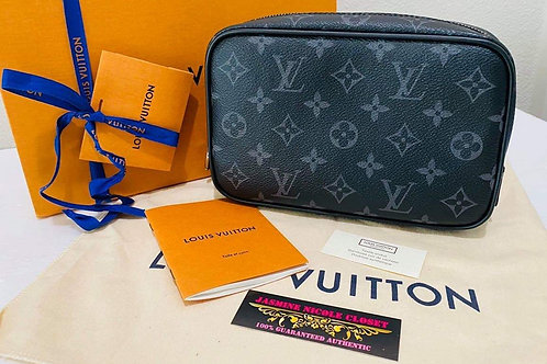 Brand New LV TOILET POUCH PM