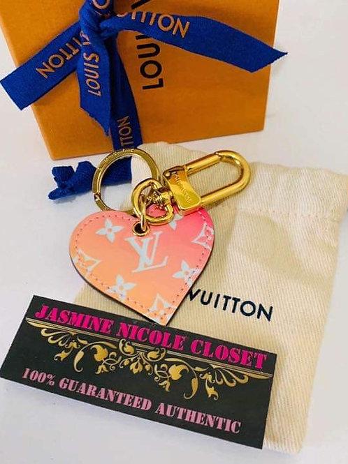 LV Love Lock Key Charm