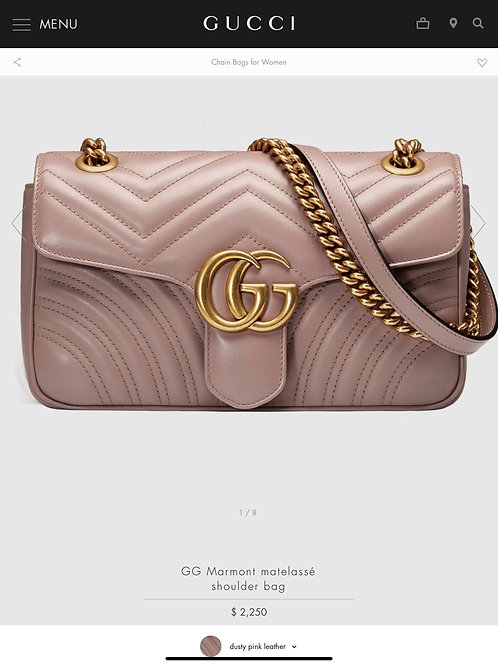 Brand New Gucci Marmont Small Crossbody Bag