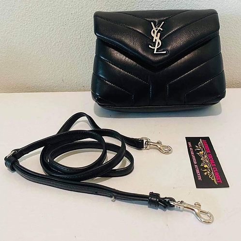 Brand New YSL LOULOU TOY Silver