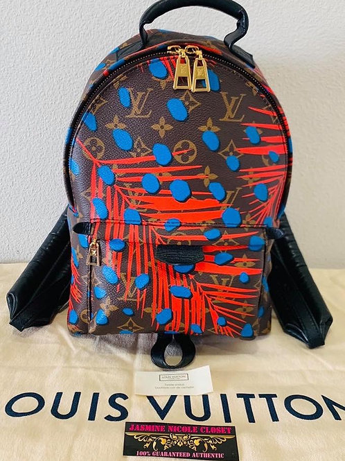 LV Jungle Dots Palm Springs PM Backpack
