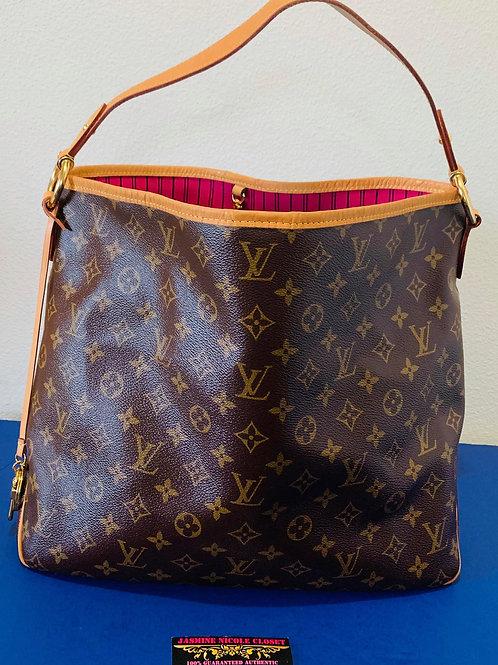 LV Delightful MM PIVOINE Bag