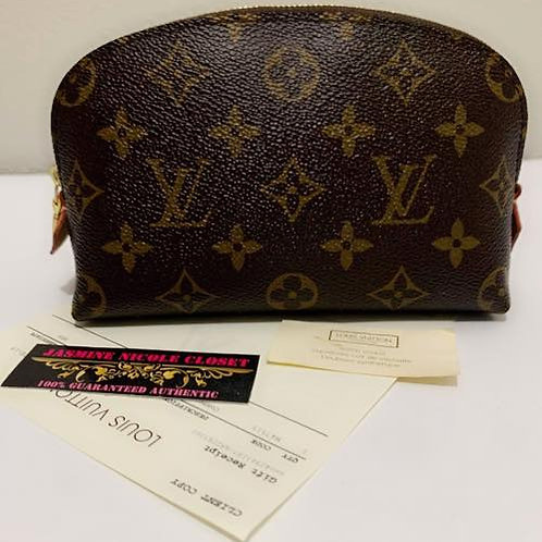 Pre Owned Rare Authentic LV Cosmetic PM Pouch