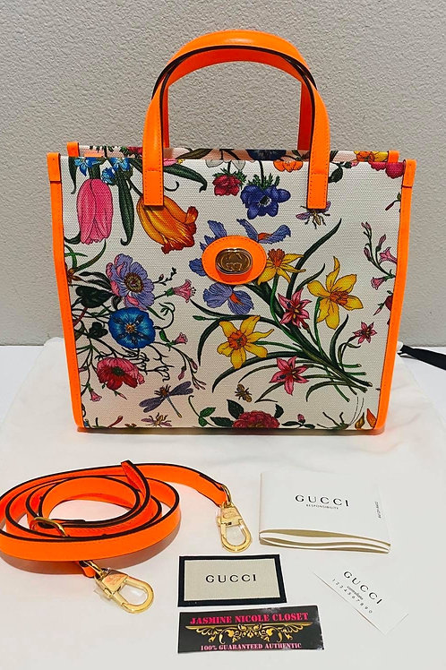 Brand New GUCCI Floral Cross Body Bag
