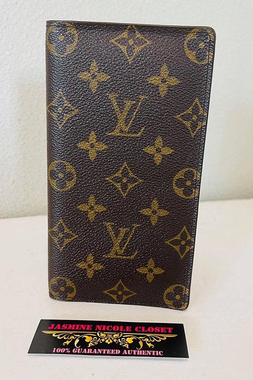 LV Check Book Wallet  w/ CC slots