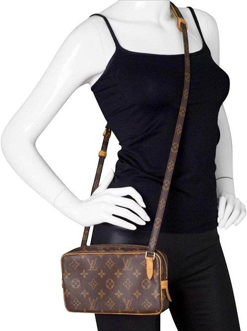 LV Marly Bandouire Crossbody Bag