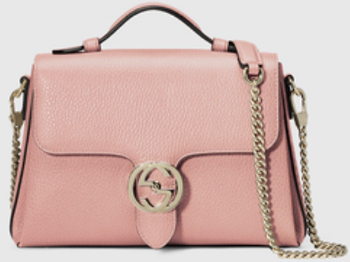 Brand New Gucci Interlocking Doll Pink Bag