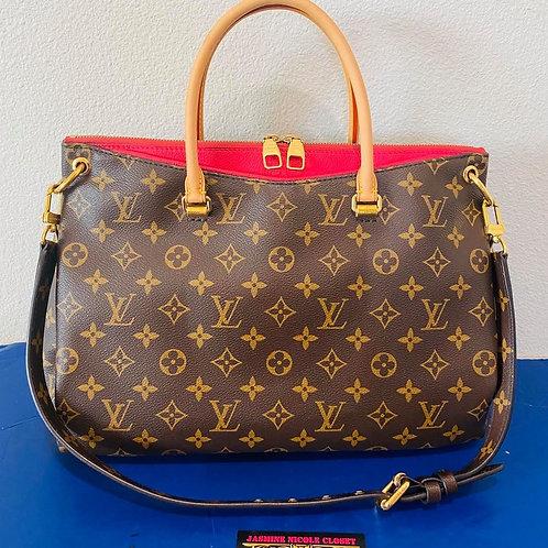 LV Pallas Fuschia Shoulder Bag