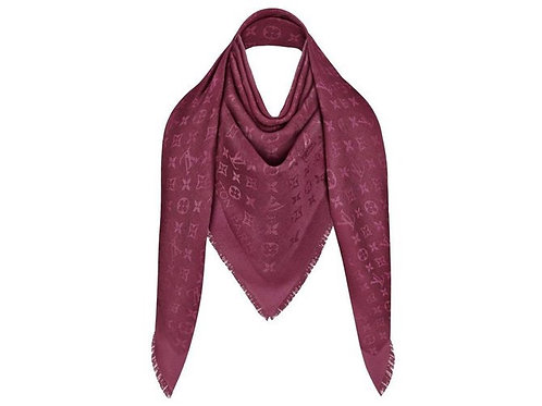 Brand New LV Shawl  Burgundy