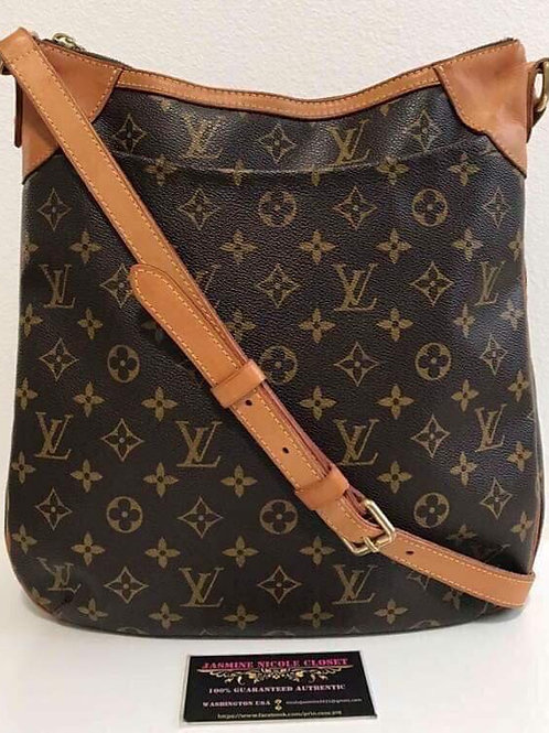 Pre Owned Rare hard to find Authentic LV Odeon MM Crossbody Bag