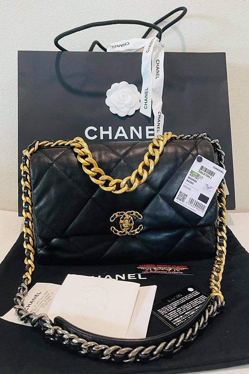 Chanel 19 BLACK Medium