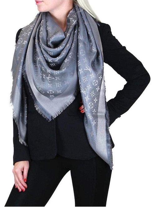 Brand New LV Shawl Shine Grey