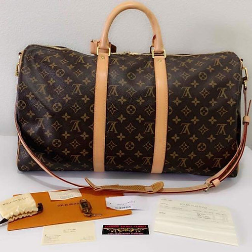 LV Keepall B 50 Travel Bag