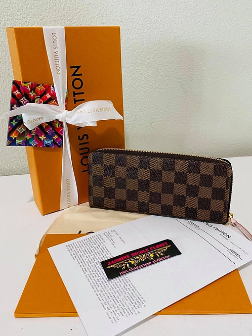 LV CLEMENCE WALLET PINK