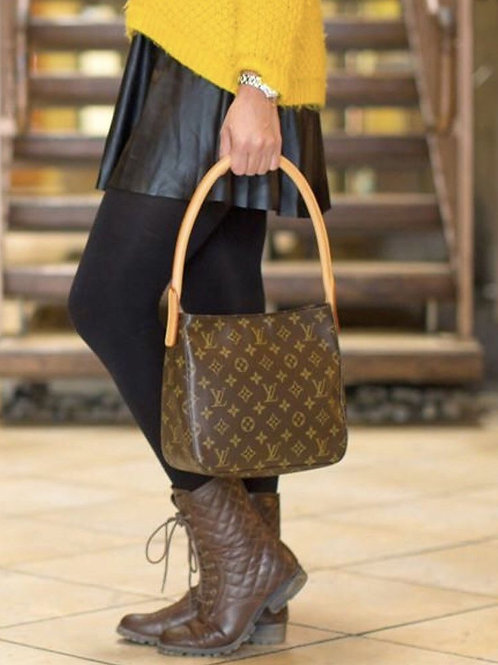 LV Looping MM Shoulder Bag