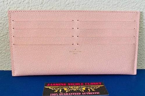 Brand New LV POCHETTE Card Holder Pink