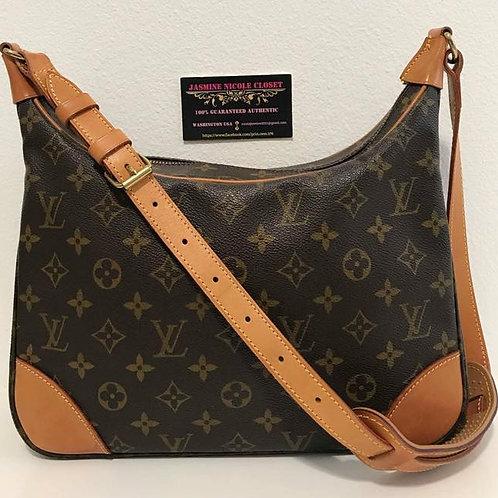 Pre Owned Louis Vuitton Boulogne 30 Shoulder Bag