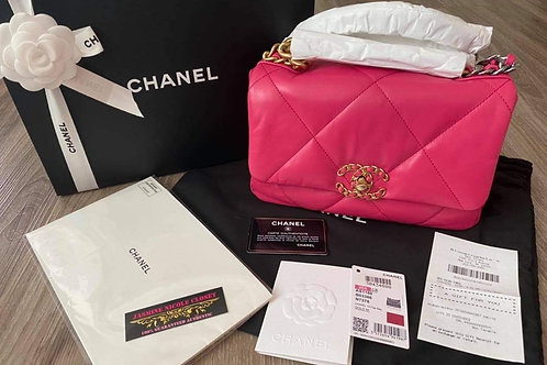 Brand New Chanel 19 Small Size Pink