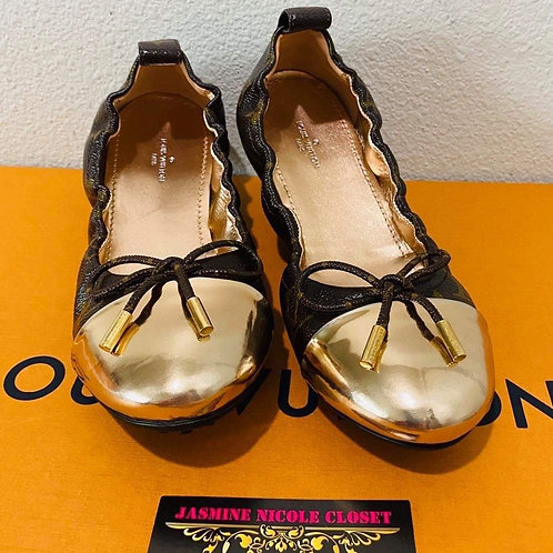 Brand New LV BALLERINA Shoes Size 6.5