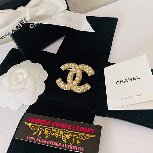 Chanel Gold Brooch