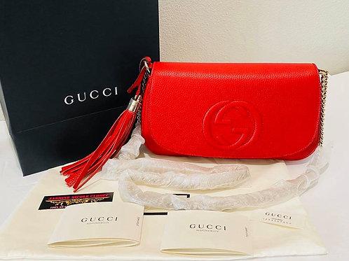 Brand New GUCCI Soho Cross Body Bag