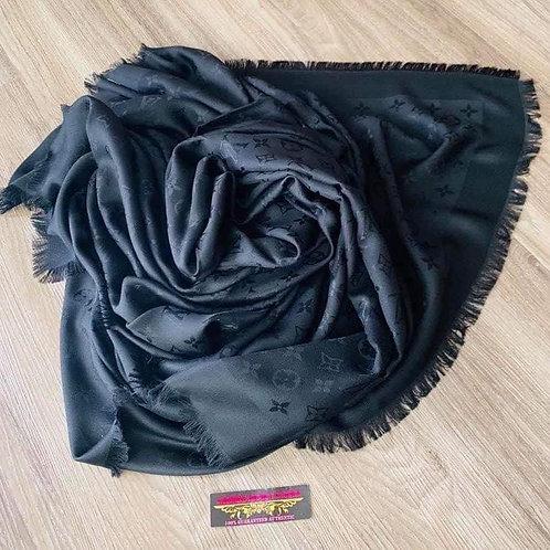 Brand New LV Black Shawl