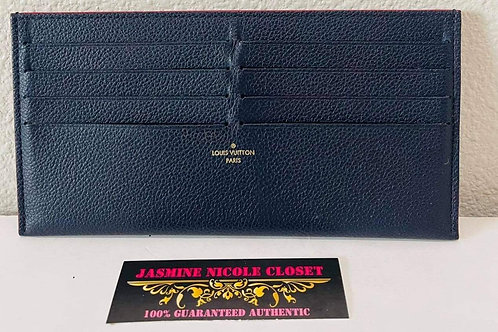 LV Card Holder Navy Blue  with 8 CC slots
