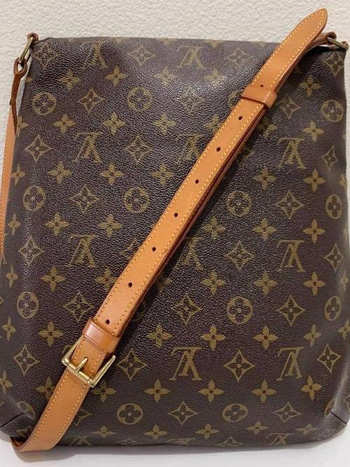 Pre Owned Rare Authentic LV Salsa GM Crossbody Bag