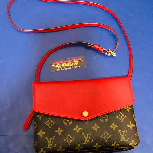 LV Twinset Red Crossbody Bag Red