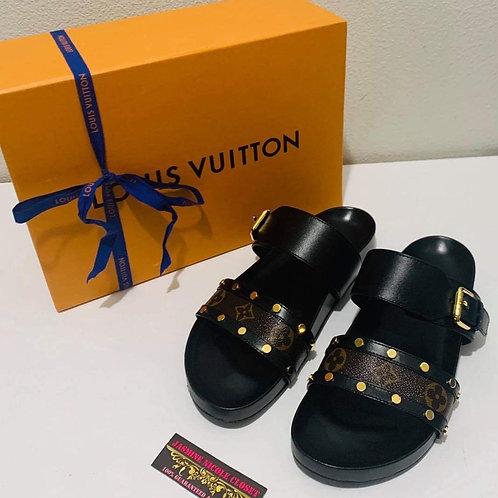 LV Bom Dia Mule Sandals Size 8.5