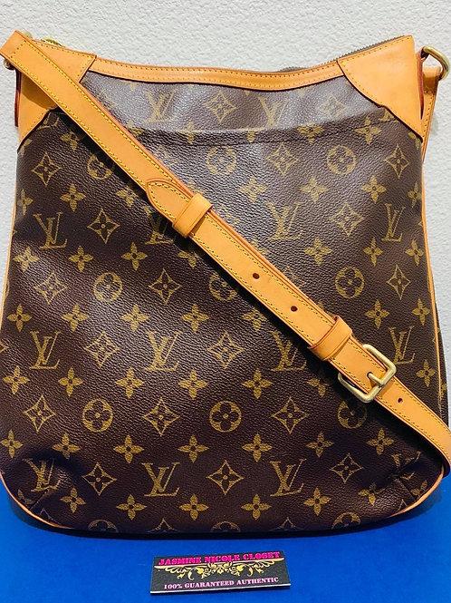 LV  Odeon MM Mono Crossbody Bag