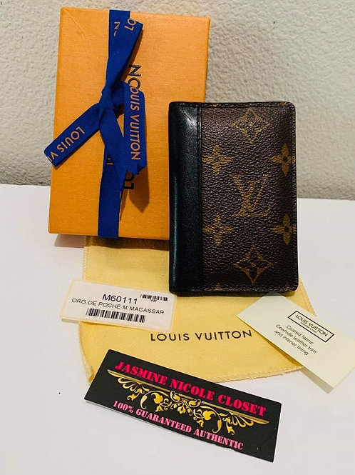 LV Pocket Organizer Wallet