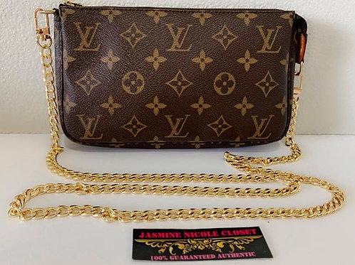 Pre Owned LV Pouchette MOno Bag