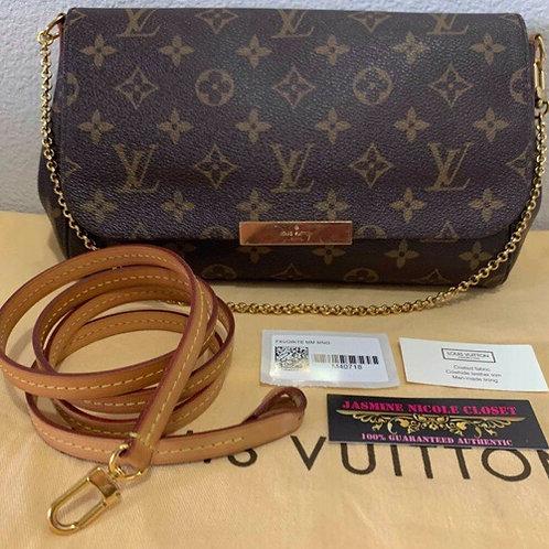 LV Favorite MM Crossbody Bag Mono