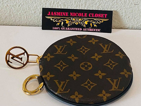 Brand New LV Round Coin Purse