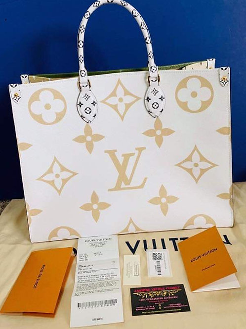LV ONTHEGO TOTE Bag Giant