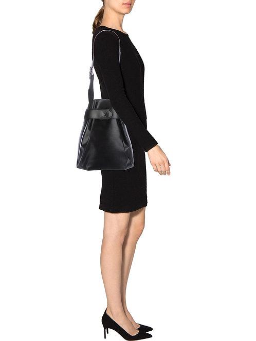 LV Sac D'Epaule Epi Black Shoulder Bag