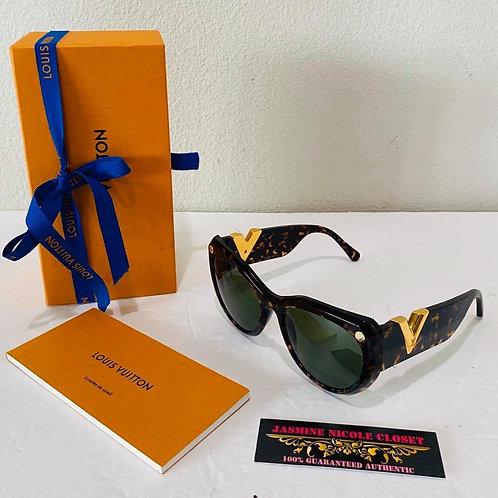 LV My Fair Lady Sunglasses Z0904W Tortoise