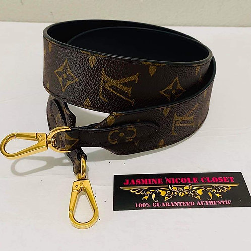 LV Bandouliere Shoulder Strap Black