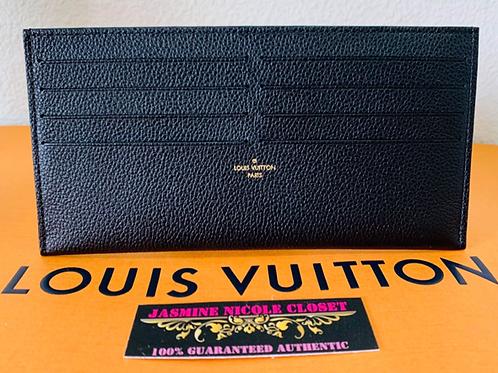 LV Card Holder Noir Black