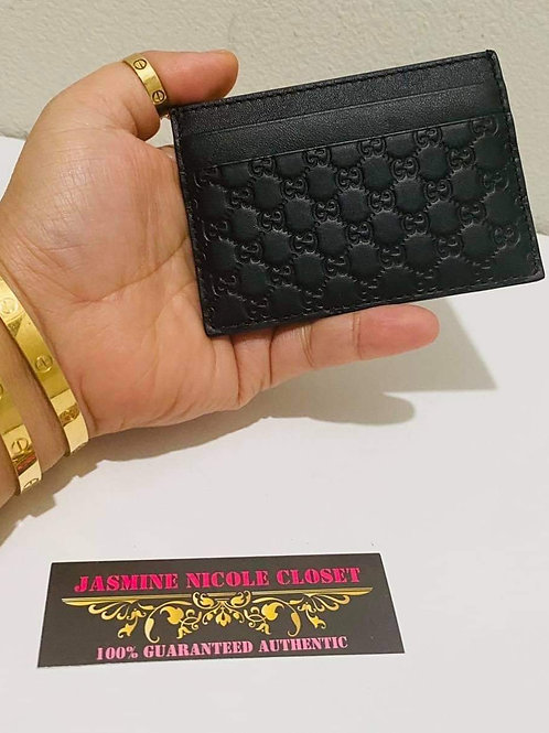 Brand New Gucci Card Holder Black